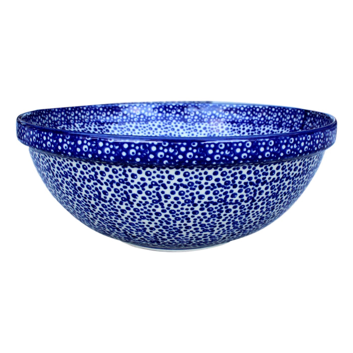 Blue Spatter - Medium Serving Bowl - Pas-Par-Tou