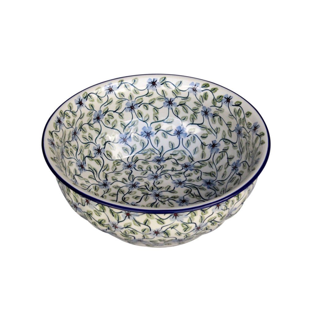 Spring Floral - Large Fluted Serving Bowl - PasParTou