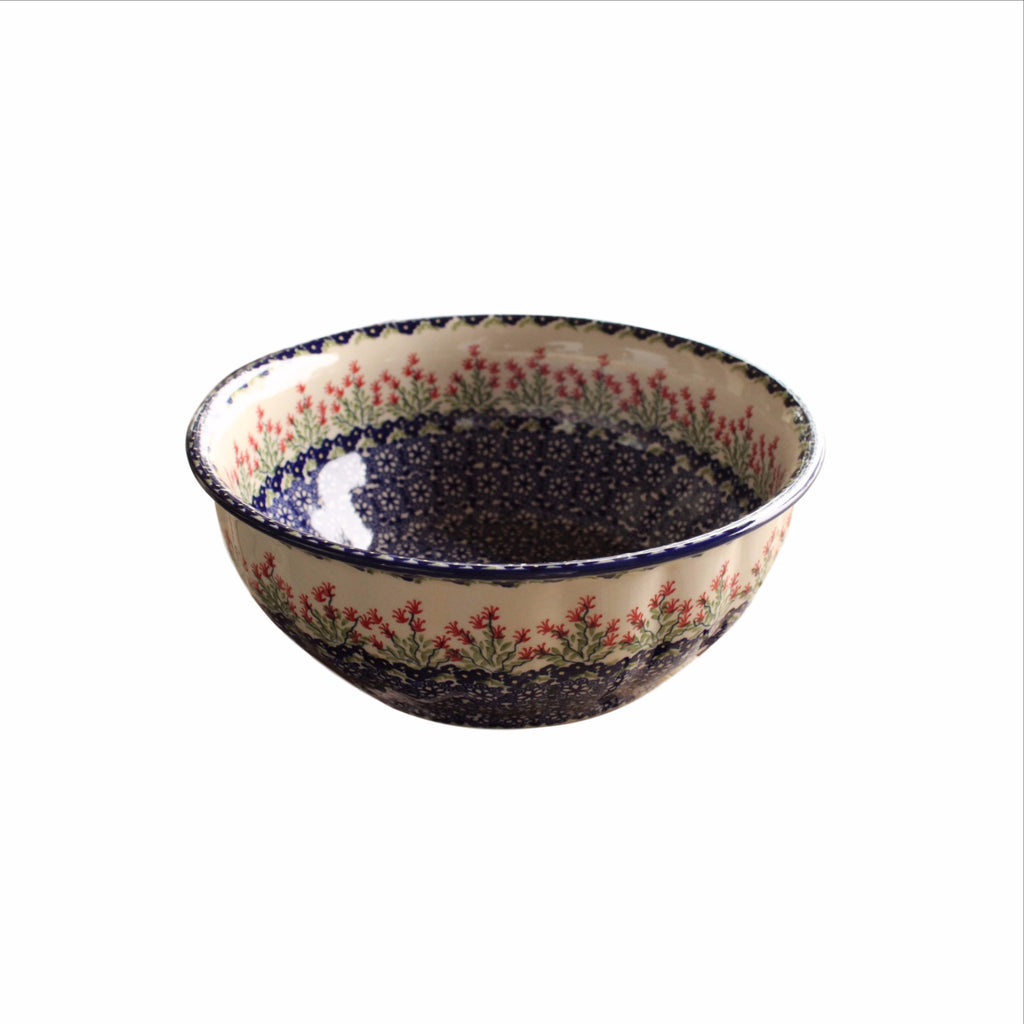 Garden - Large Fluted Serving Bowl - PasParTou
