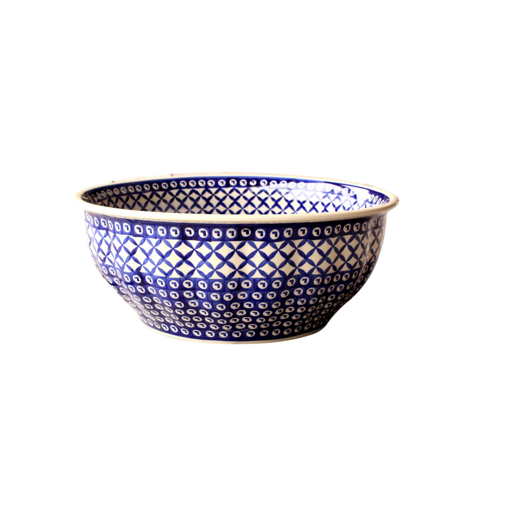 Lattice - Large Fluted Bowl - PasParTou