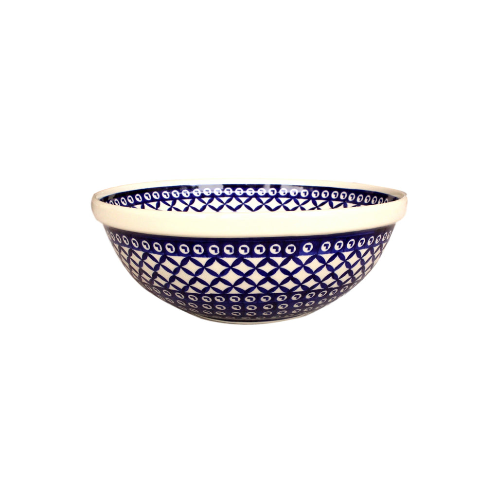 Lattice - Medium Serving Bowl  Polish Ceramics - PasParTou