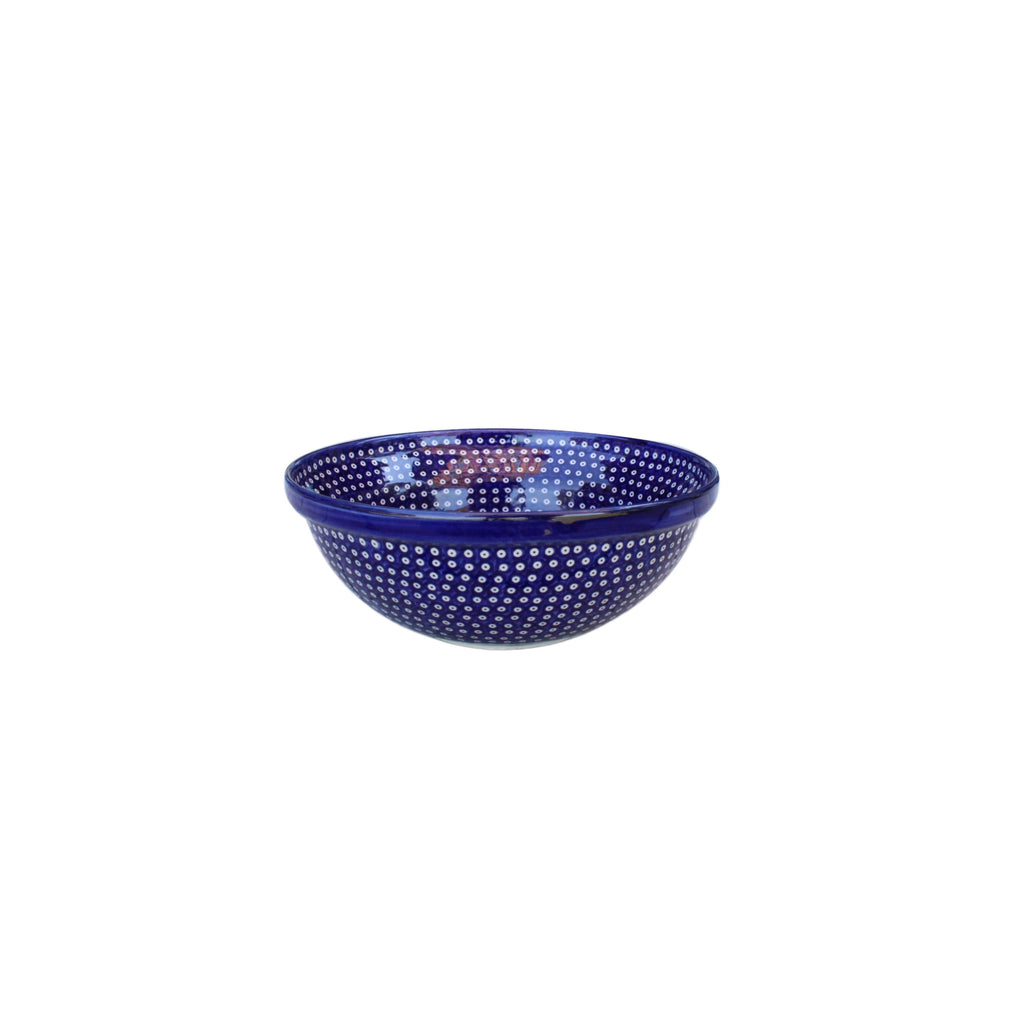 Dots Navy - Medium Serving Bowl - Pas-Par-Tou