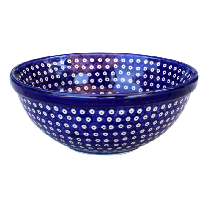 Dotty for Dots Navy - Small Serving Bowl - Pas-Par-Tou