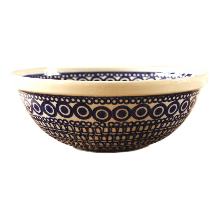Circles - Medium Serving Bowl  Polish Ceramics - PasParTou