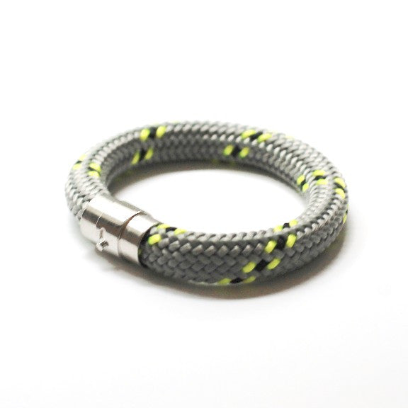 Classic Rope Sailors Bracelet Gray  Jewelry - PasParTou
