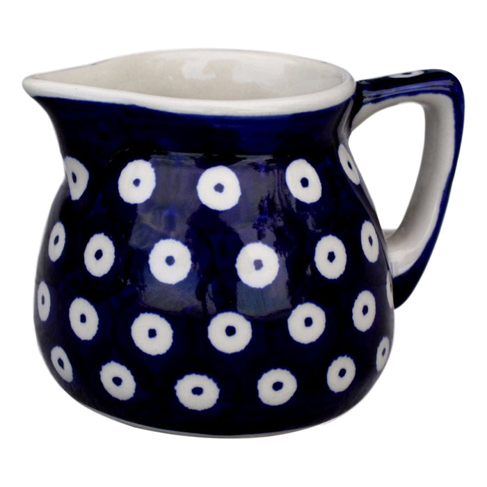 Dots in Dots - Small Creamer  Polish Ceramics - PasParTou
