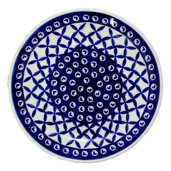 Lattice - Dessert Plate  Polish Ceramics - PasParTou
