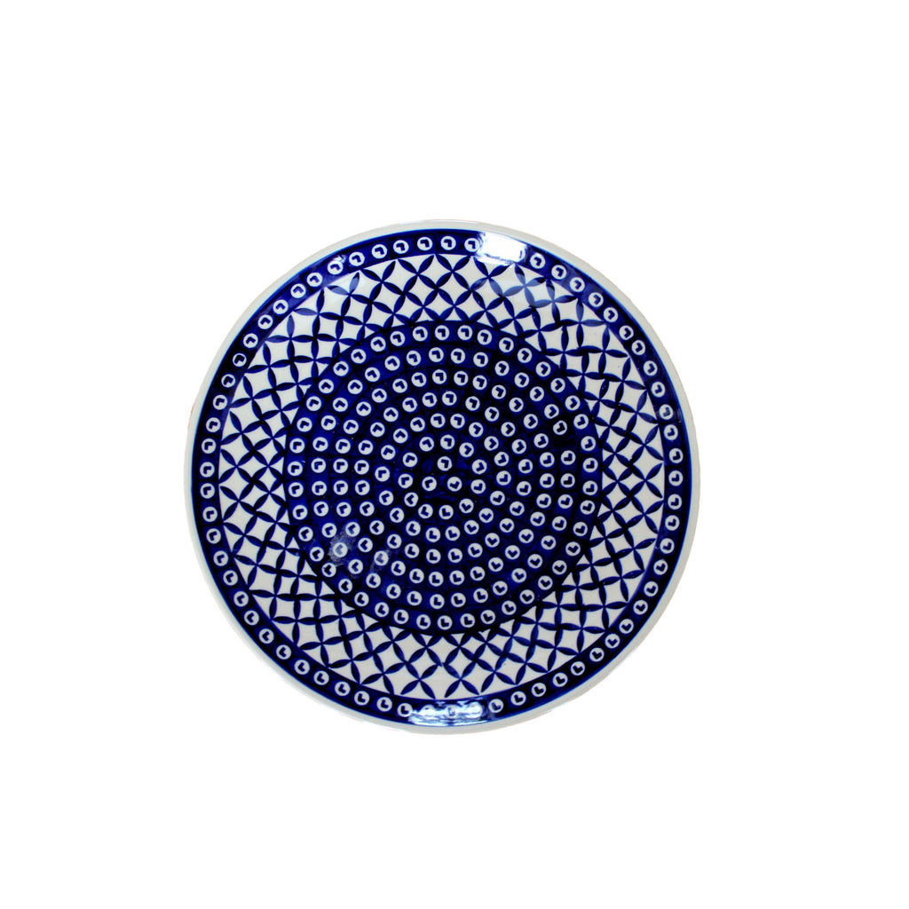Lattice - Dinner Plate  Polish Ceramics - PasParTou