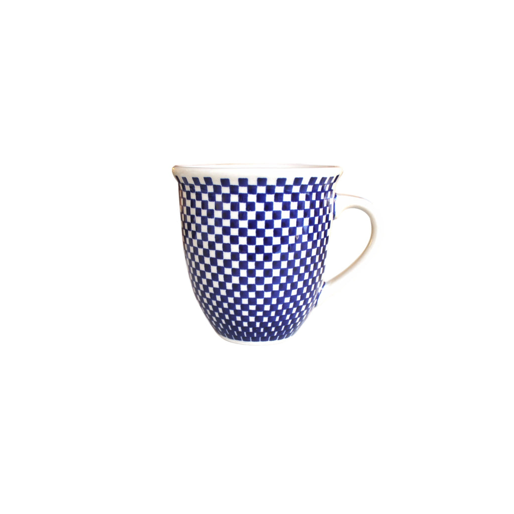 Checkerboard - Big Cup  Polish Ceramics - PasParTou