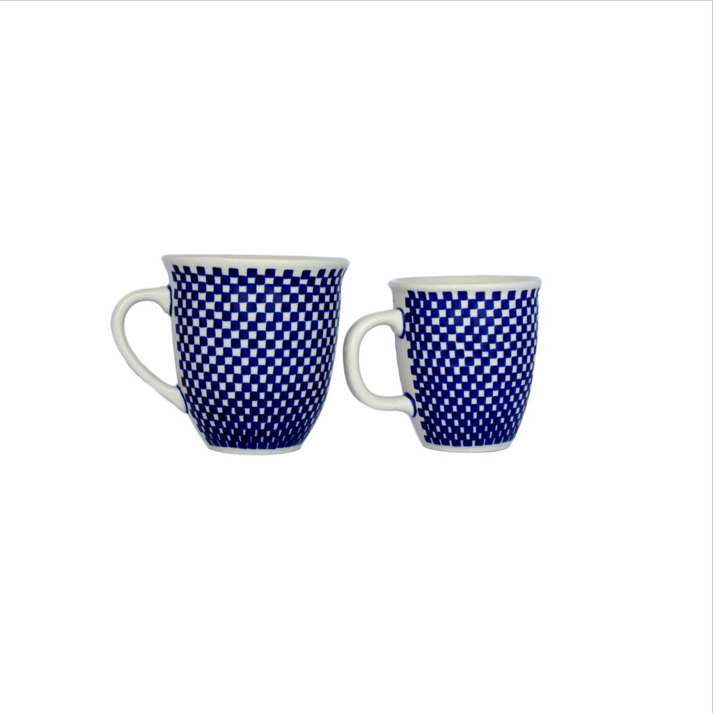Checkerboard - Big Cup and Small Cup- Pas-Par-Tou