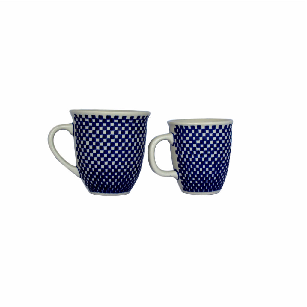 Checkerboard - Cup and Big Cup - Pas-Par-Tou