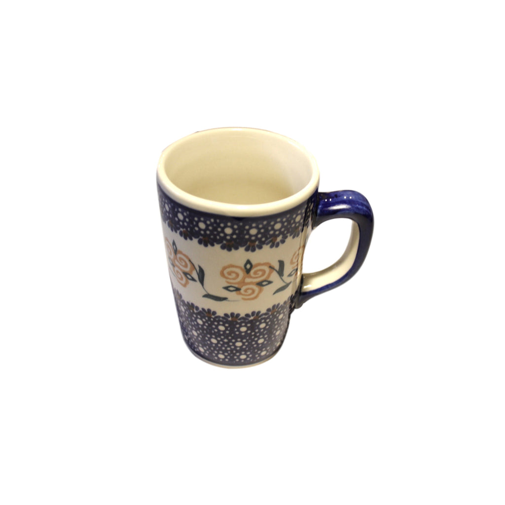 Golden Rose - Tall Mug  Polish Ceramics - PasParTou