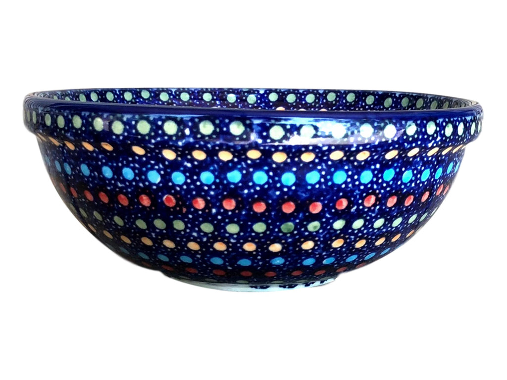 Multi Dots - Dessert Bowl  Polish Ceramics - PasParTou
