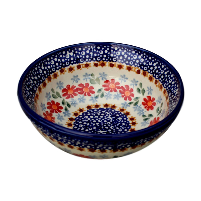 Country Floral - Desert Bowl  Polish Ceramics - PasParTou