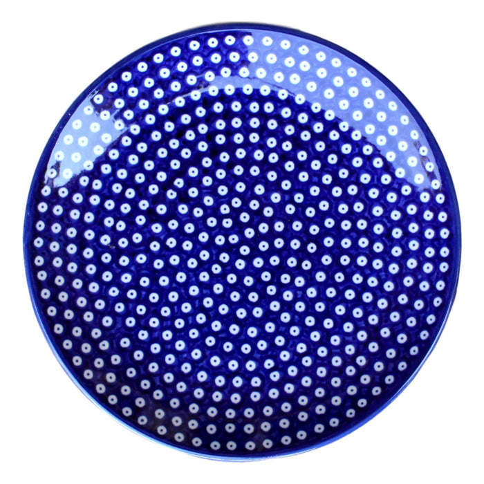 Dotty for Dots Navy - Dessert Plate - PasParTou
