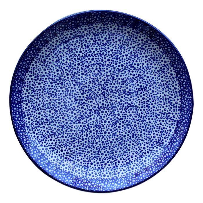 Blue Spatter - Dinner Plate - PasParTou