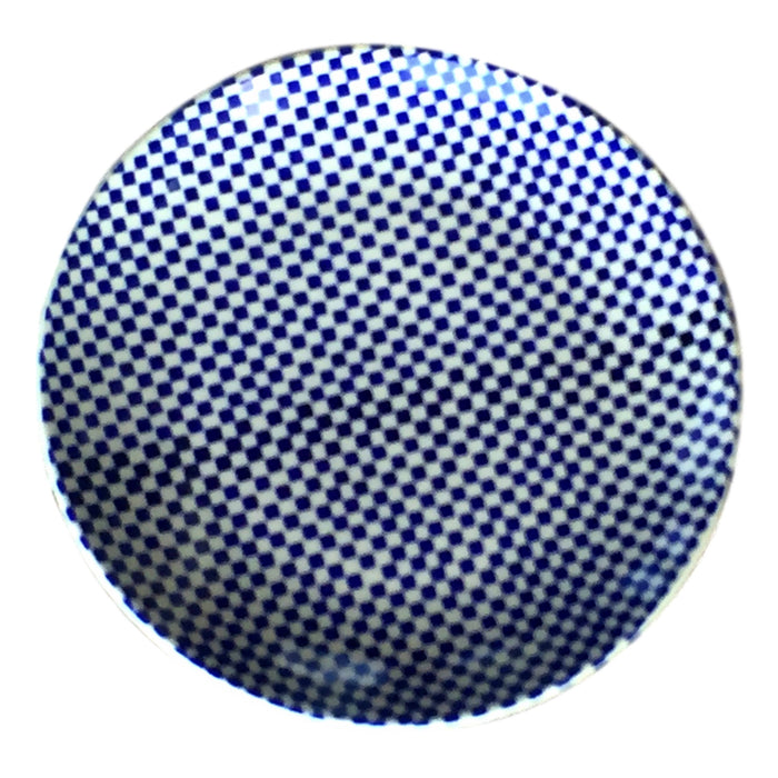 Checkerboard - Dinner Plate - Pas-Par-Tou