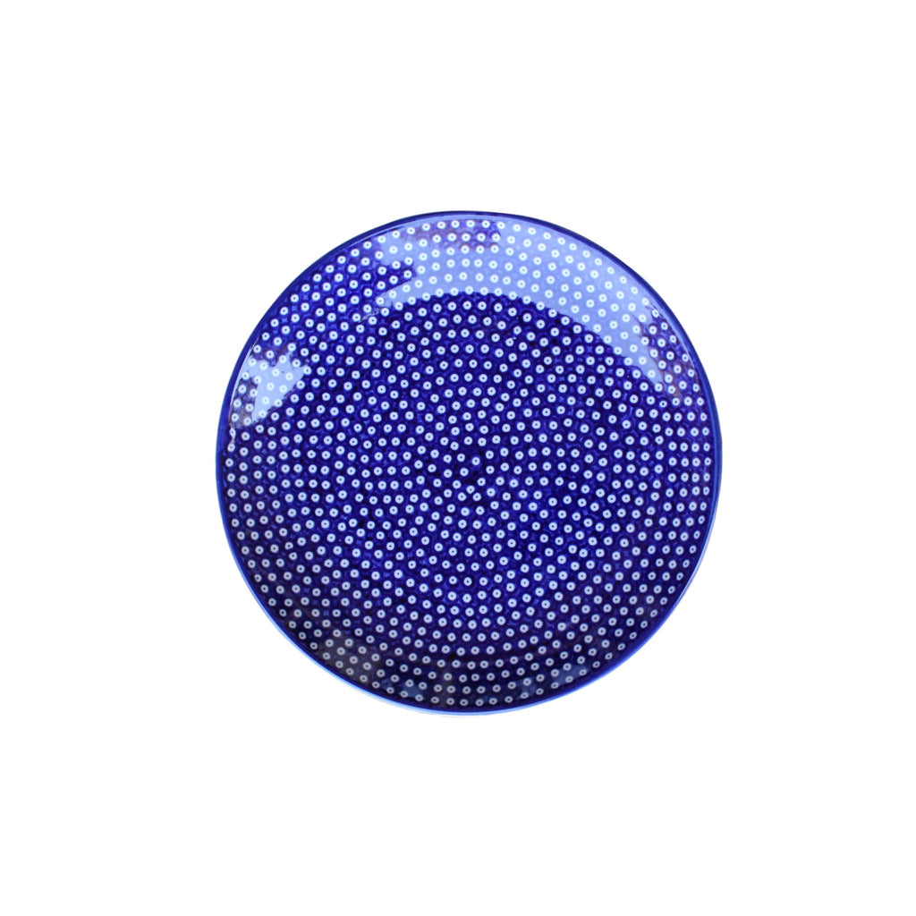 Dotty for Dots Navy - Dinner Plate - PasParTou