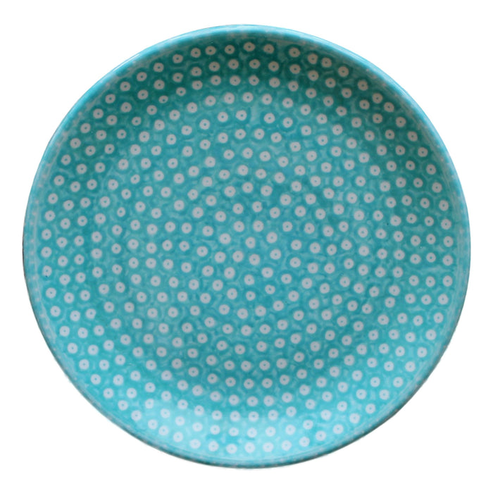 Dotty for Dots Mint - Dessert Plate - Pas-Par-Tou