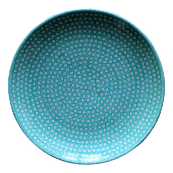 Dotty for Dots Mint - Dinner Plate - Pas-Par-Tou