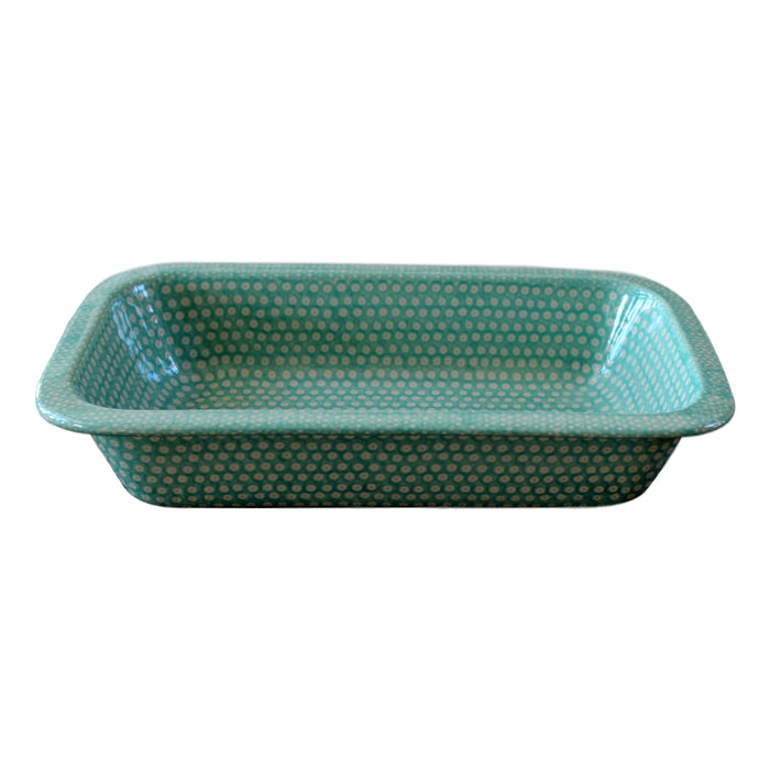 Dotty for Dots Mint - Rectangular Baker Small - Pas-Par-Tou