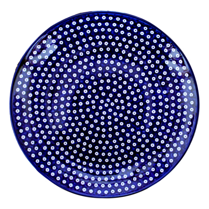 Dotty for Dots Navy - Salad Plate  Polish Ceramics - PasParTou