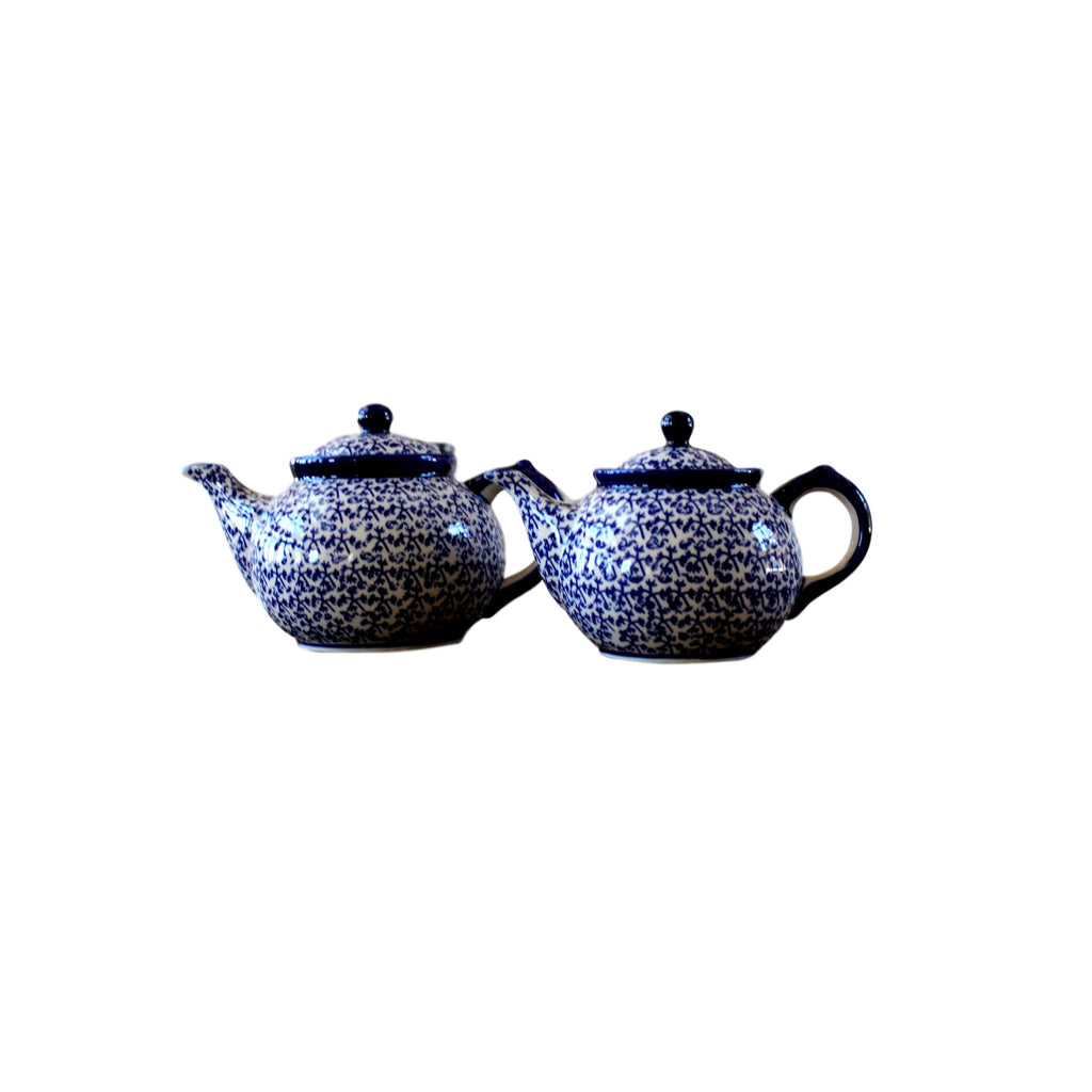 Blue Fern - Small and Large Teapots - Pas-Par-Tou