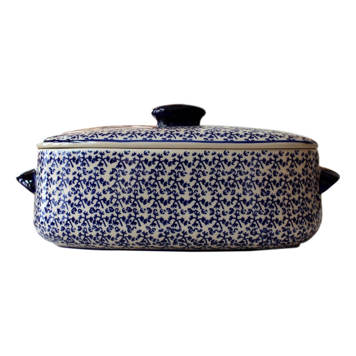 Blue Fern - Bread keeper - Pas-Par-Tou