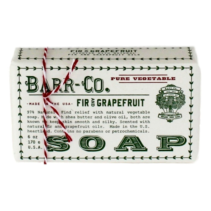 Barr Soap - Fir + Grapefruit