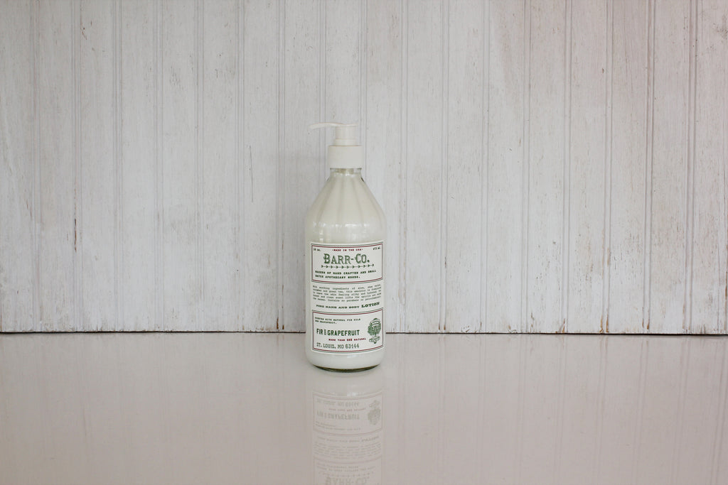 Barr Hand Body Lotion - Fir+Grapefruit
