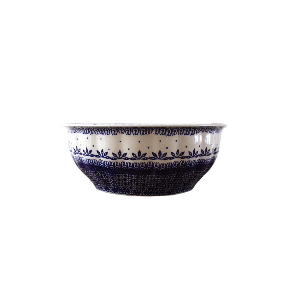 Greco - Large Fluted Serving Bowl - PasParTou