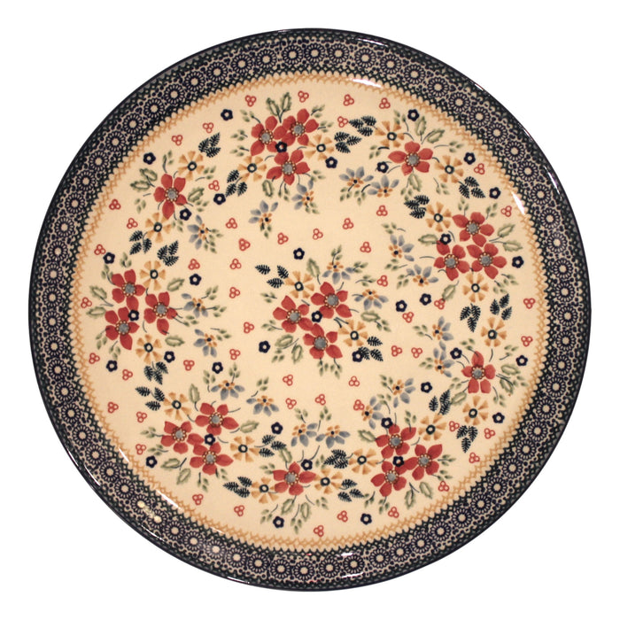Harvest Floral - Large Serving Plate  Polish Ceramics - PasParTou