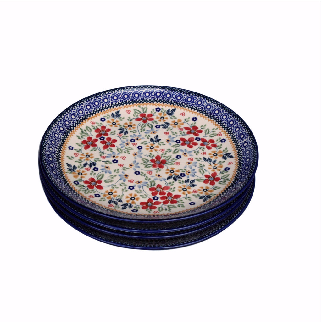 Harvest Floral -Stack of  Dinner Plates - Pas-Par-Tou