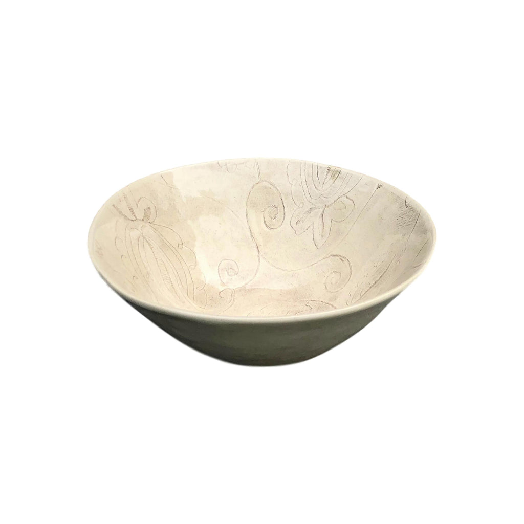 Wonki Ware - Organic Pasta Bowl - Smoke - Medium  tabletop - PasParTou