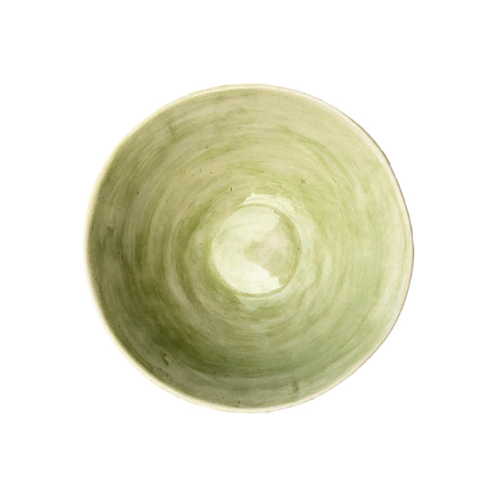 Wonki Ware - Organic Pasta Bowl - Light Green- Medium  tabletop - PasParTou