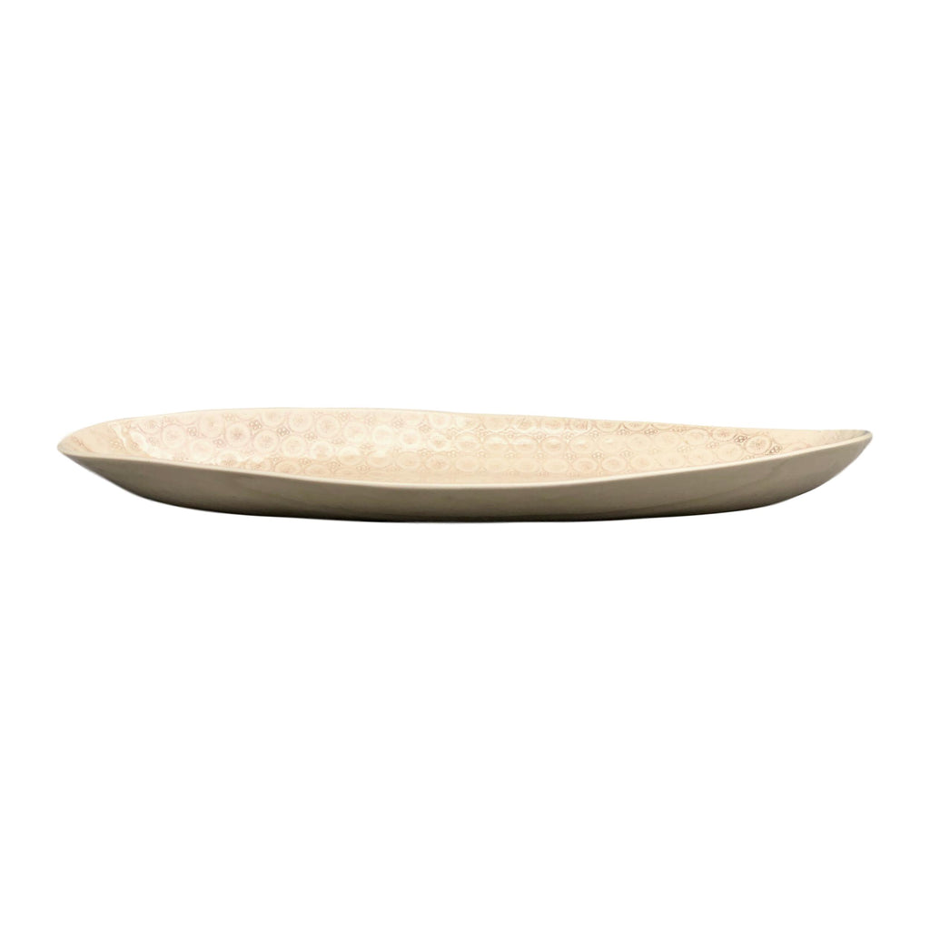 Wonki Ware - Oblong Platter - Smoke - Large  tabletop - PasParTou