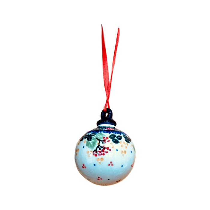 Ornament - Polish Pottery - Holiday Berries