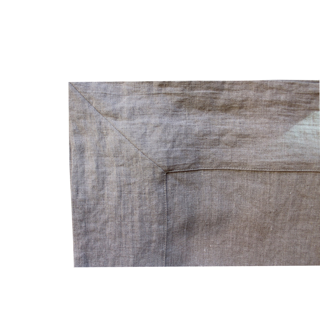 Tablecloth - Softwashed Linen Grey
