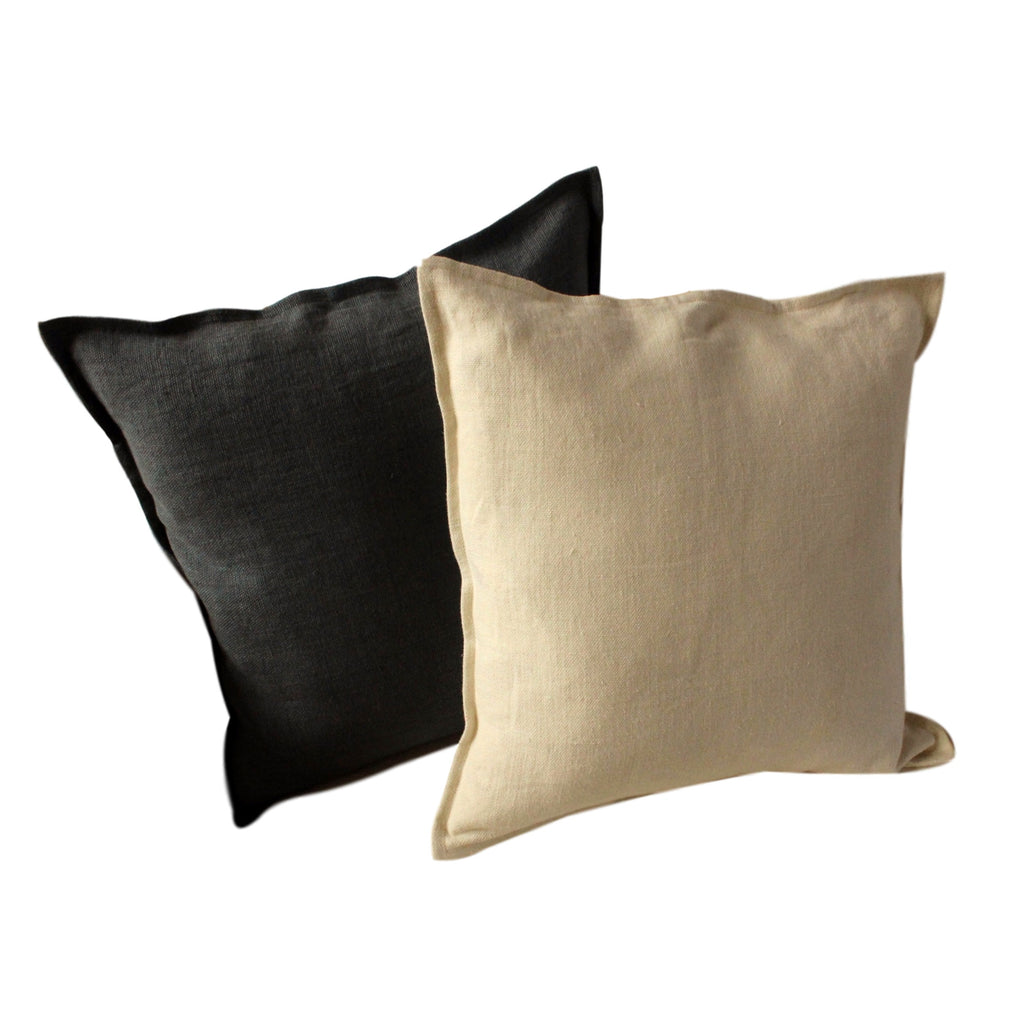 Pillow Soft Washed Linen Chocolate Brown