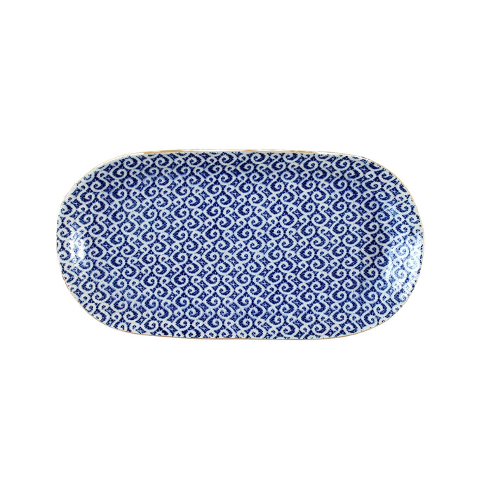 Small Fish Platter Marakesh Cobalt