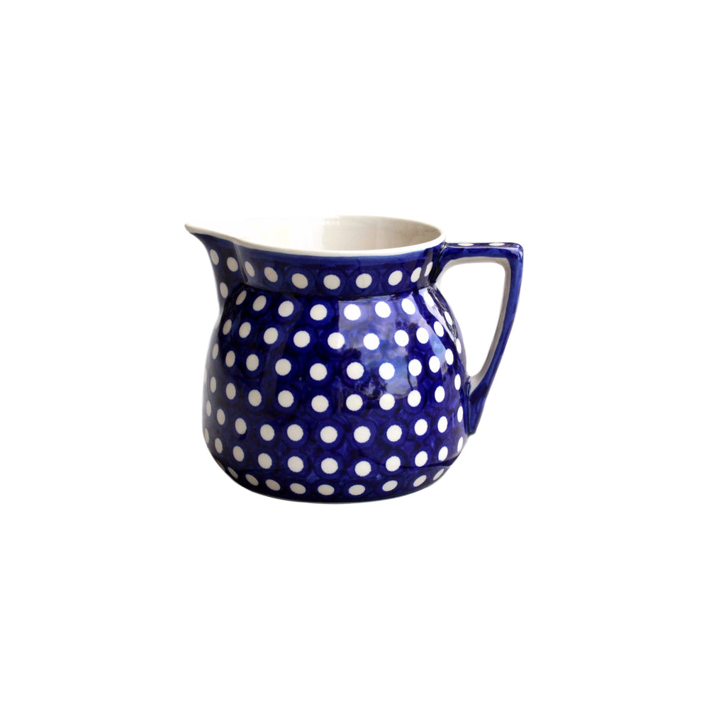 Dots - Large Jug  Polish Ceramics - PasParTou