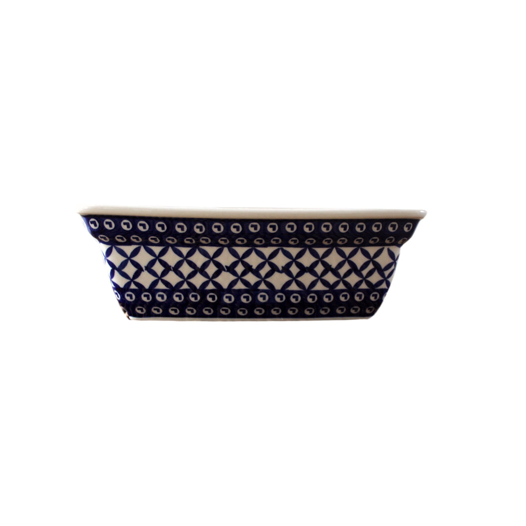 Lattice - Deep Rectangular Baker  Polish Ceramics - PasParTou