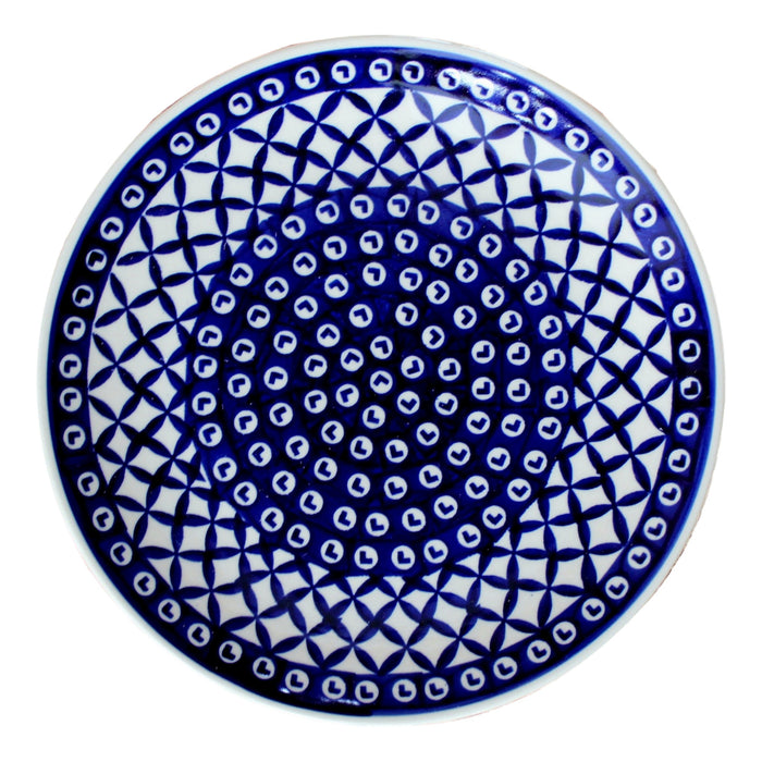 Lattice - Salad Plate  Polish Ceramics - PasParTou
