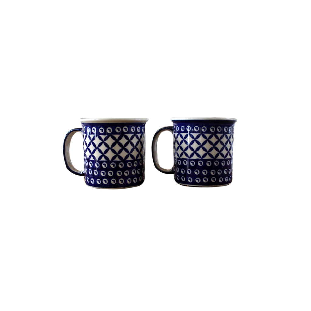 Lattice - Classic 12 oz mug  Polish Ceramics - PasParTou