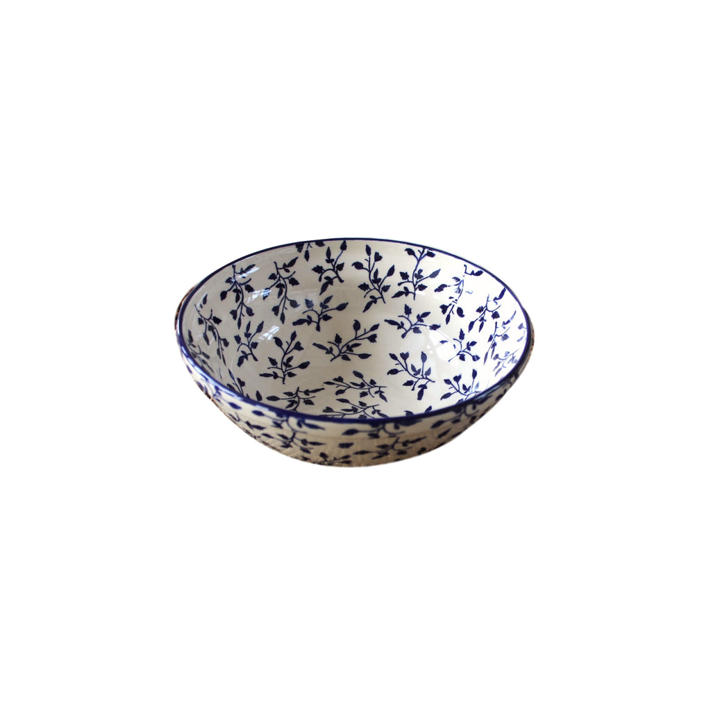 Laurel - Medium Serving Bowl  Polish Ceramics - PasParTou