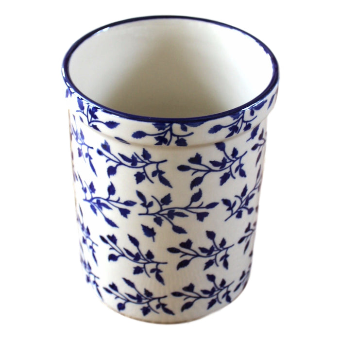 Laurel- Utensil Holder  Polish Ceramics - PasParTou