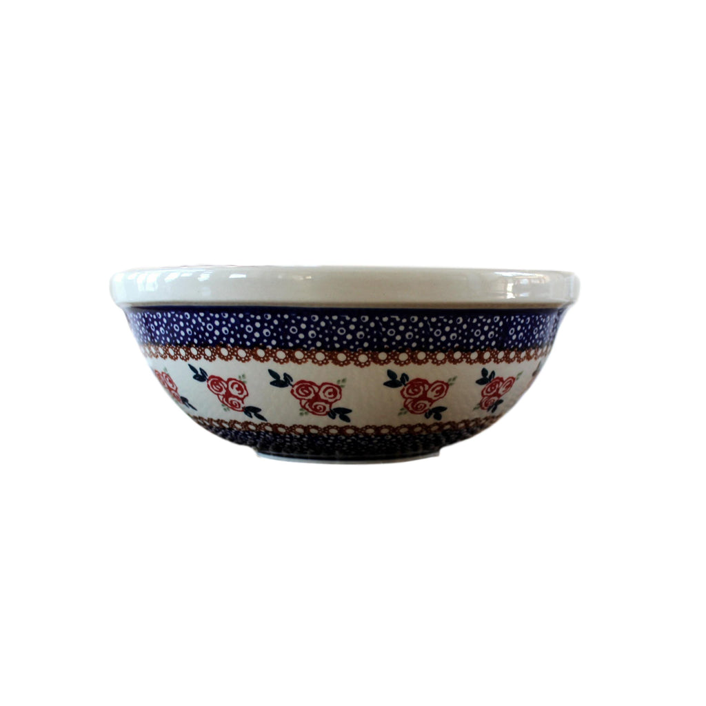 Red Rose - Medium Serving Bowl