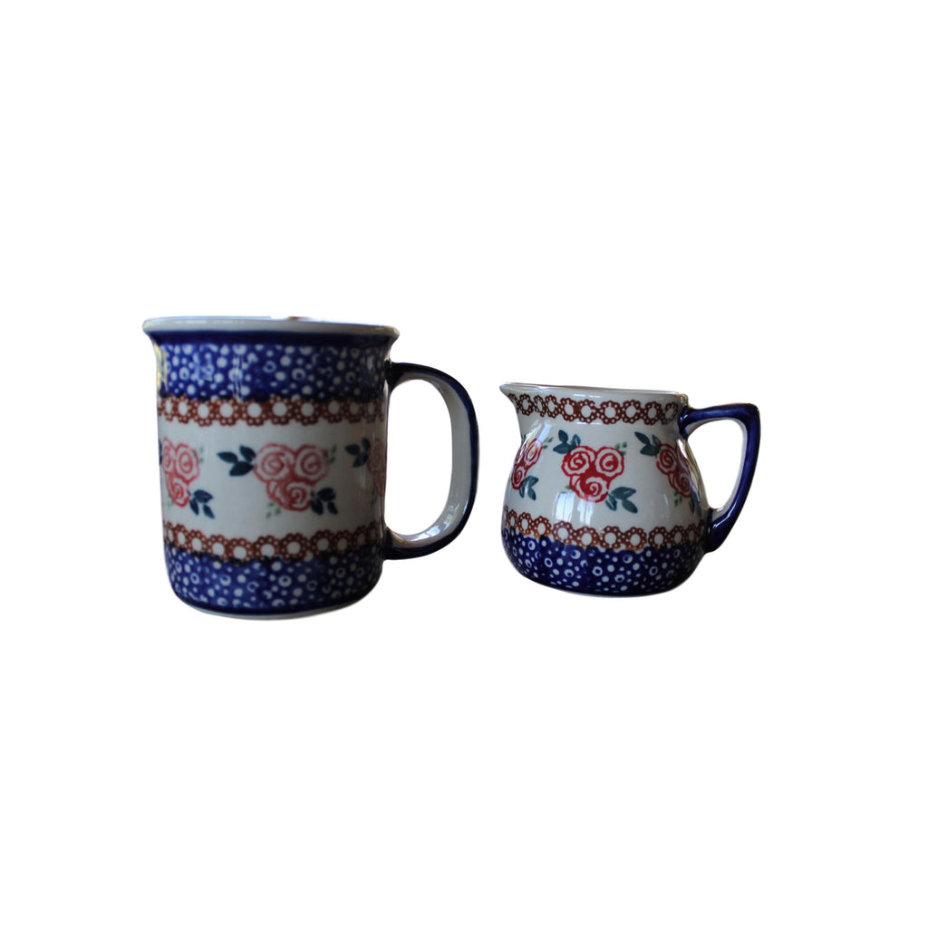 Red Rose - Straight Mug
