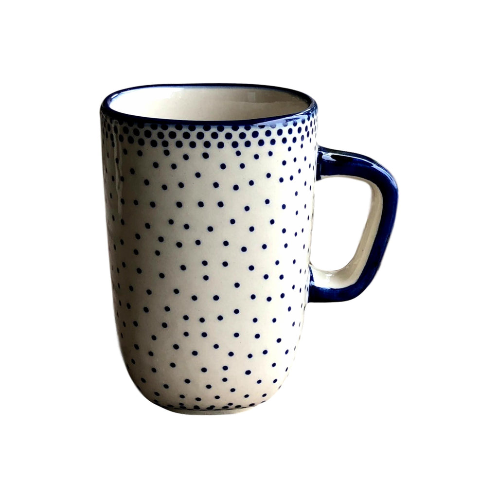 Tiny Blue Dots - Cup  Polish Ceramics - PasParTou