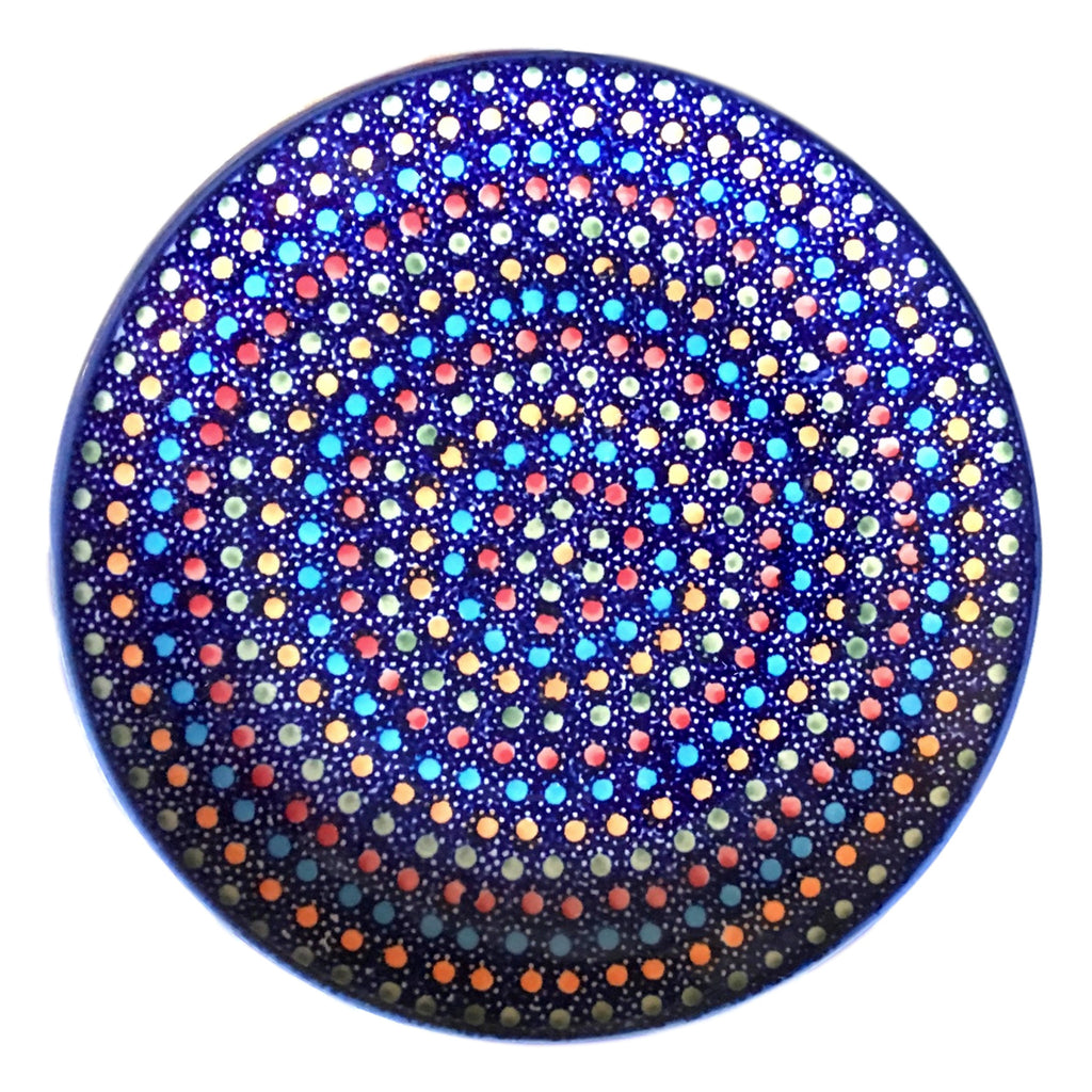 Multi Dots - Dinner Plate  Polish Ceramics - PasParTou
